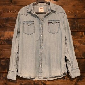 Levi's Western Pearl Snap